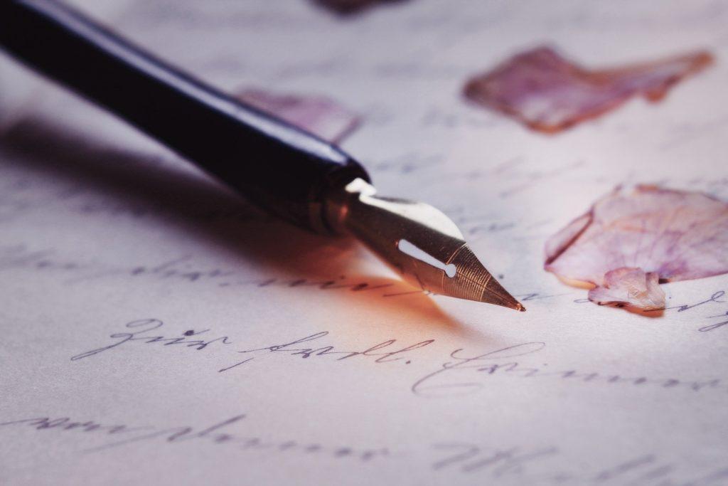 Je découvre : la Calligraphie